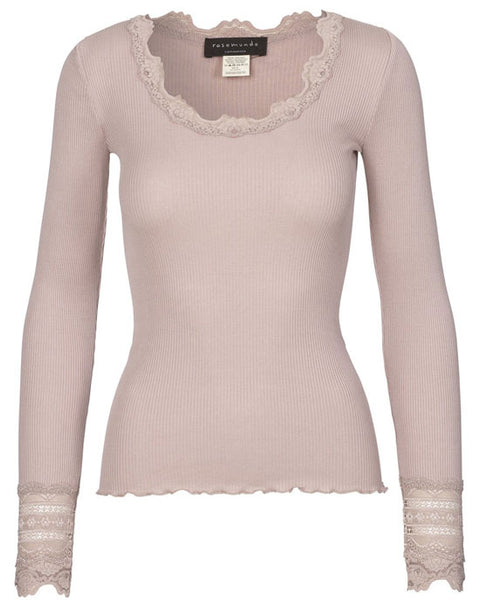Babette Lace Top w Lace cuff - shopatstocks