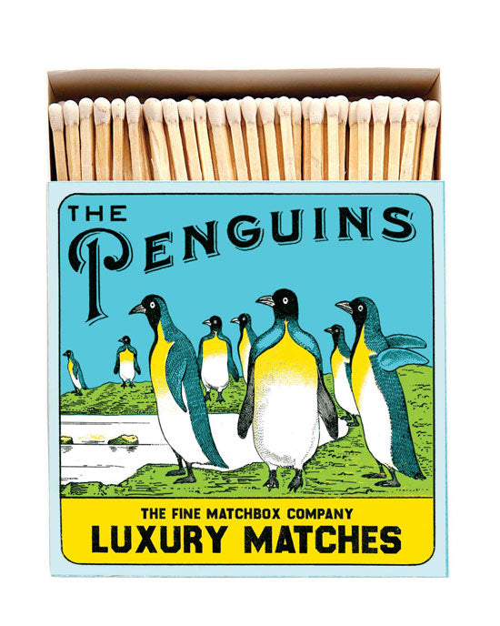 Penguins Square Matchbox