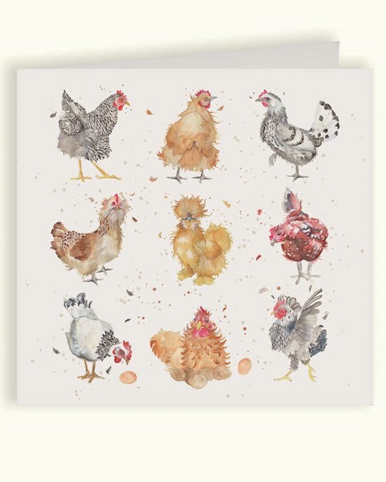 The British Collection - Hens Card - shopatstocks
