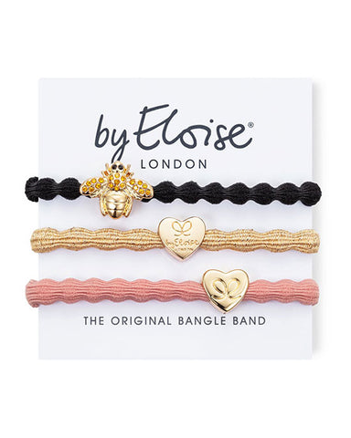 By Eloise 'Bee Pretty' Set of 3 Hairbands
