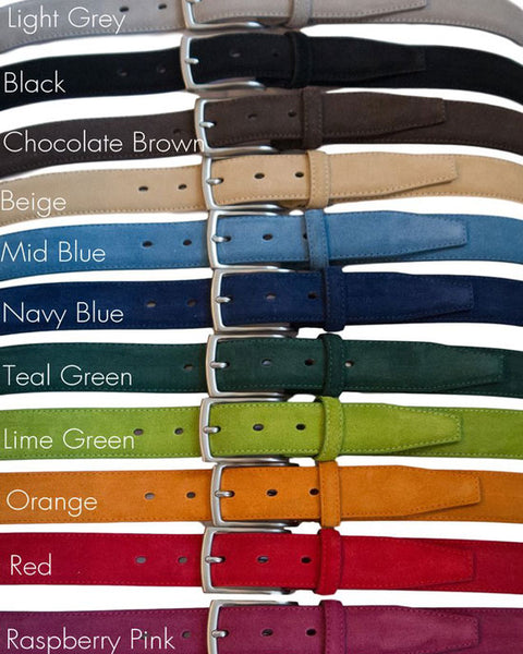 Papavero Suede Belt