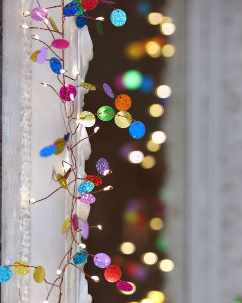 Confetti LED Light Chain