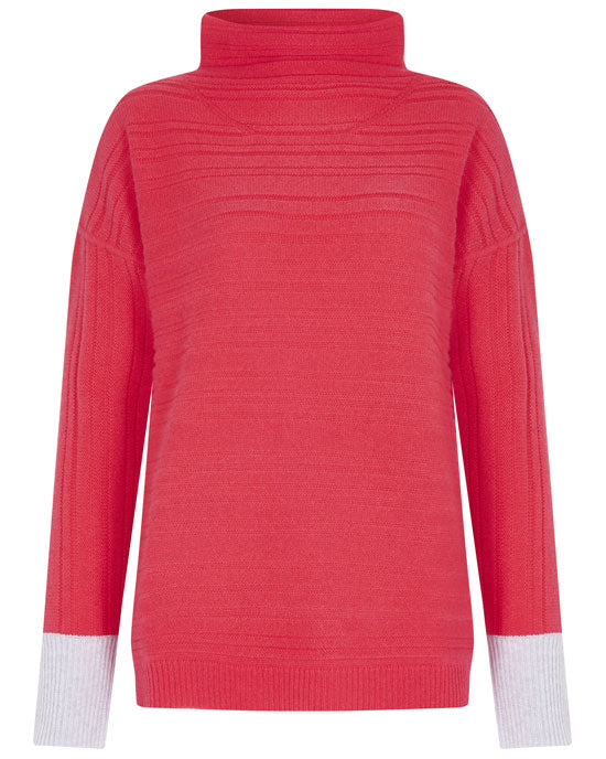 CASHMERE WOMEN'S TEXTURED DONEGAL