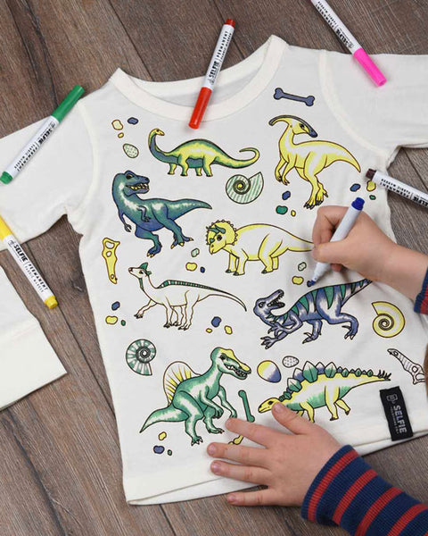 Dinosaur Colour In Top - shopatstocks