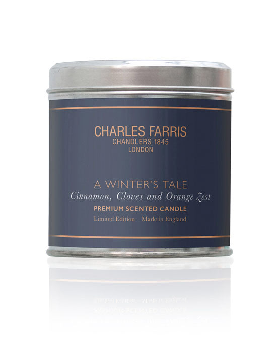 Charles Farris Tin Candle Winter's Tale