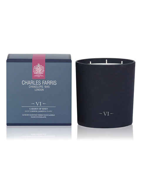 Charles Farris 3 wick Candle