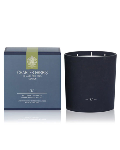 Charles Farris 3 wick Candle - shopatstocks