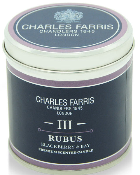 Charles Farris tin candle - shopatstocks