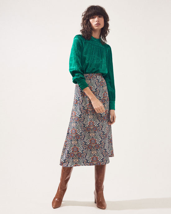 Fiona Skirt Emerald