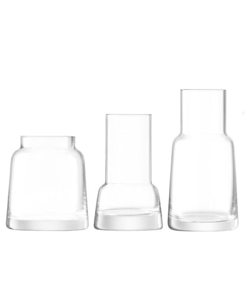 Chimney mini vases, set of 3