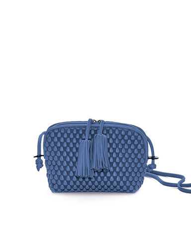 Gizmo Small Bag w Tassle Greek Blue