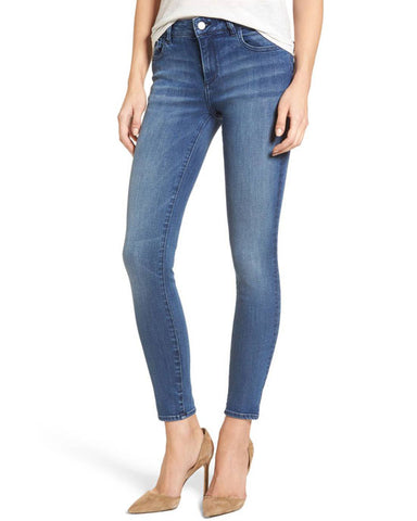 Margaux Mid Rise Skinny Ankle Jeans, Fresno