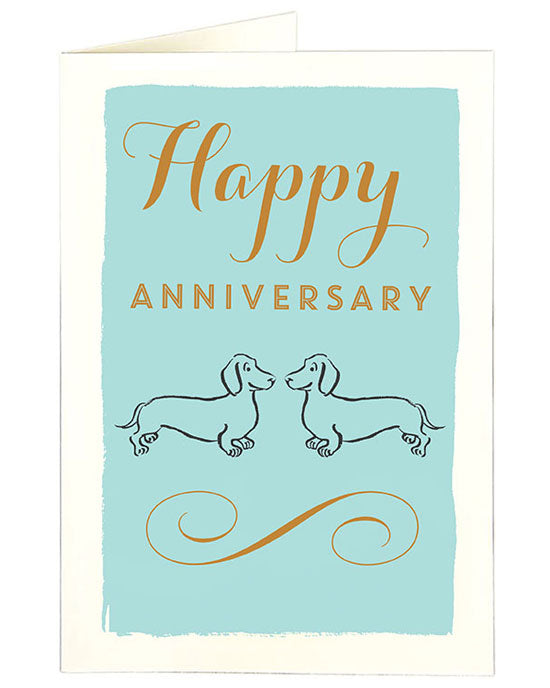 Doxie Anniversary Card - shopatstocks