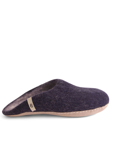 Egos Wool Slippers - Blue