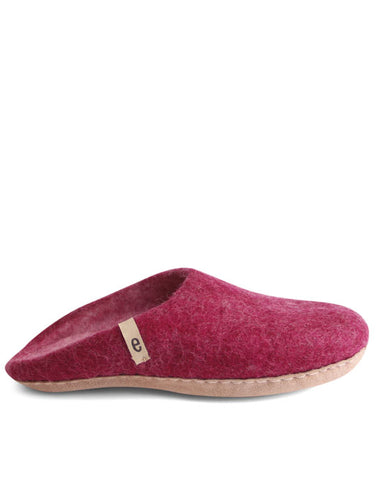 Egos Wool Slippers - Cerise