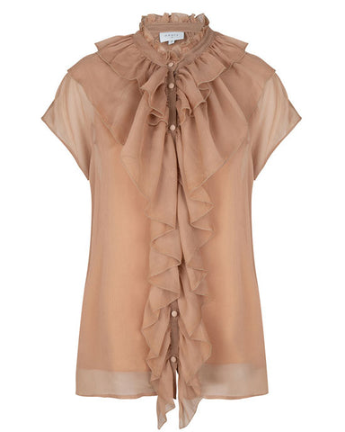 Anya Volant Top Latte - shopatstocks