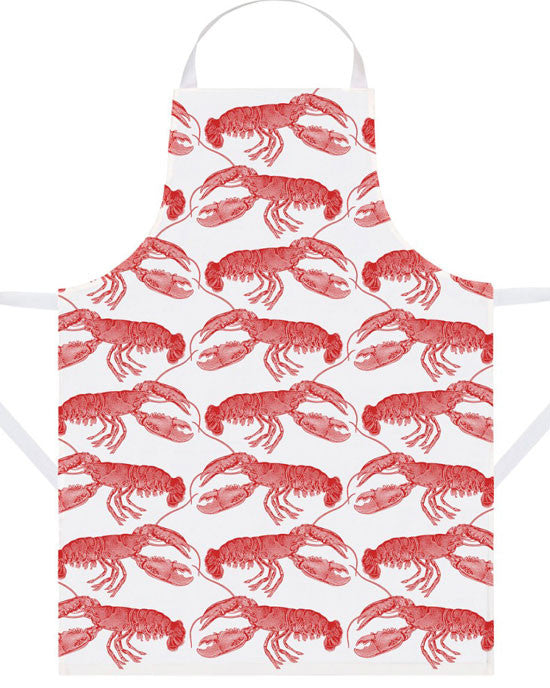 Apron Lobster, coral - shopatstocks