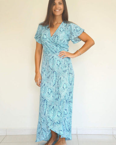 Wrap Dress Long