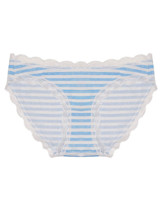 Cheekfrills Knicker Blue Stripe