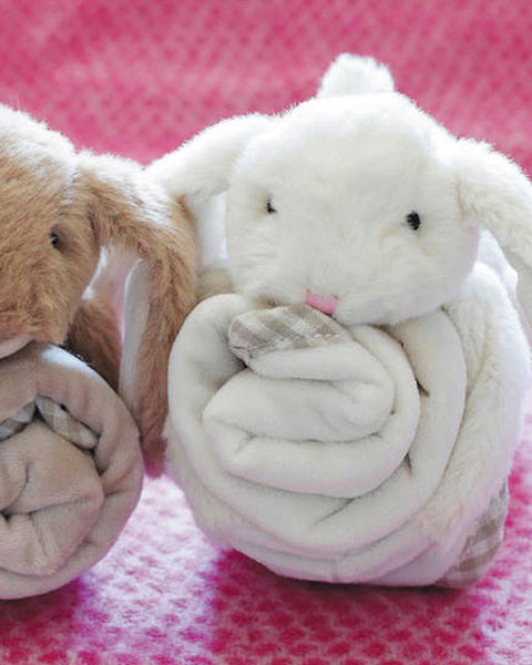 Bunny toy soother