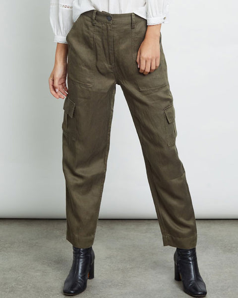 Cargo trousers olive