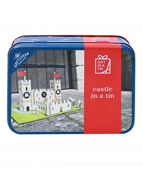 Castle set in a Tin Craft Set - shopatstocks