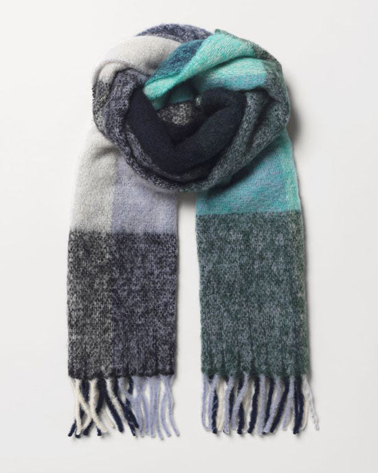 Check Ingria Scarf - Night Sky