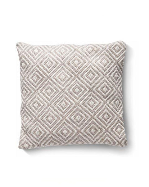 Woven Diamond Cushion Natural