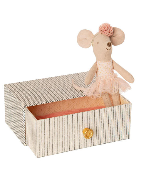 Dancing mouse in day bed, little sister - shopatstocks