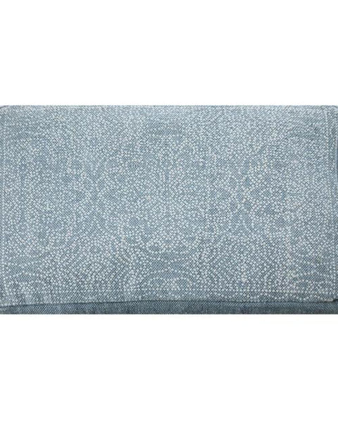 Woven Dog Bed Denim Blue
