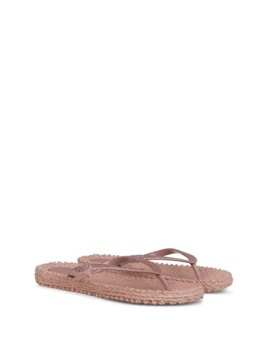 Glitter Flip Flops Misty Rose - shopatstocks