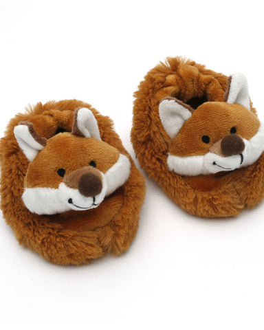 Fox baby slippers