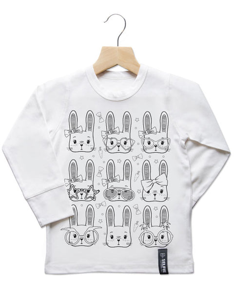 Funny Bunny Colour In Top