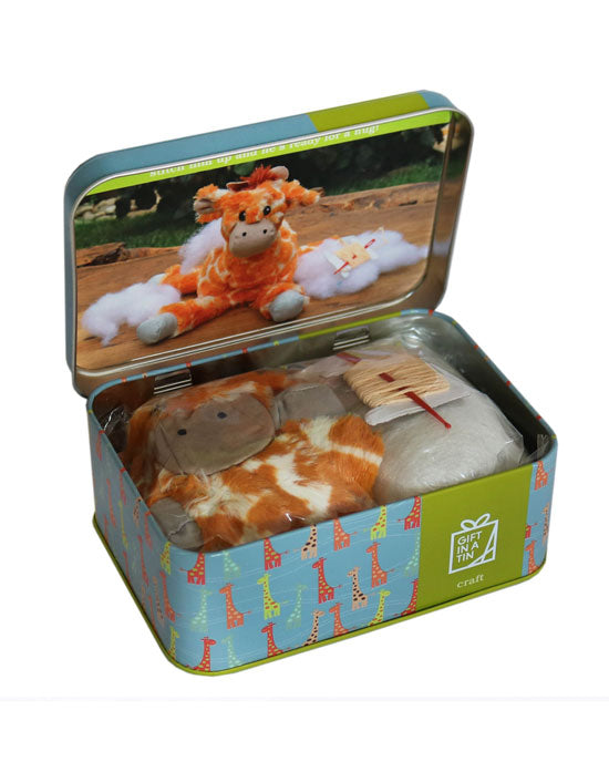 George the Giraffe Sewing Kit - shopatstocks