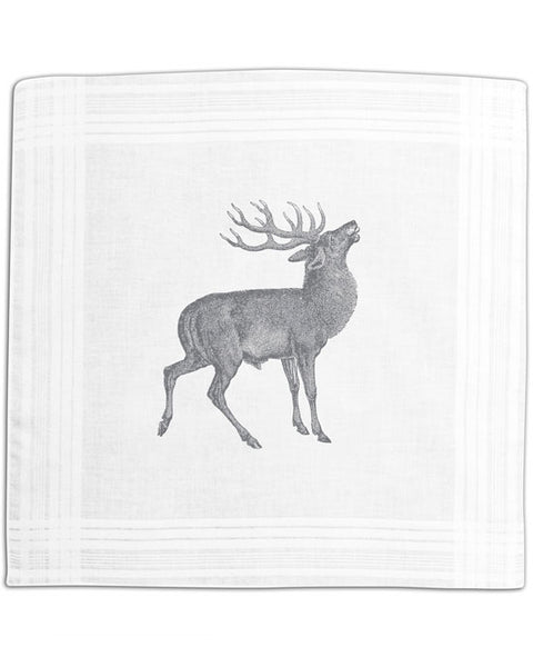 Hanky box, stag grey