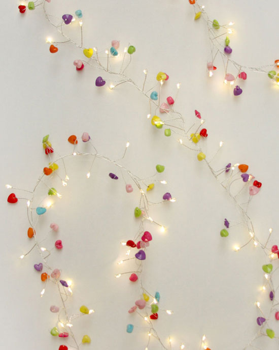 Sweet Heart Fairy Lights (mains)