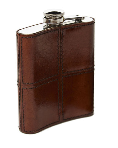 Hip Flask - Tan