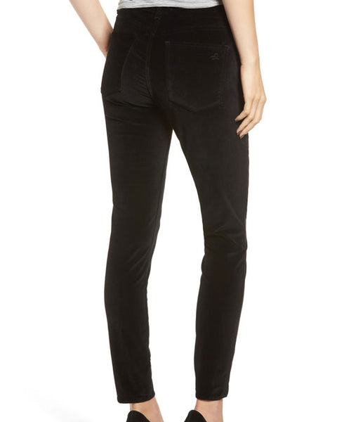Margaux Jeans Lost (Black Velvet)