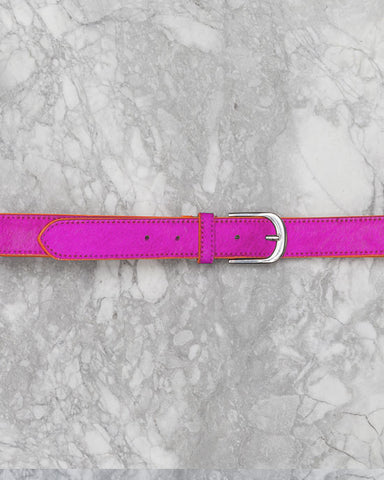 Pink Belt w Orange Edge