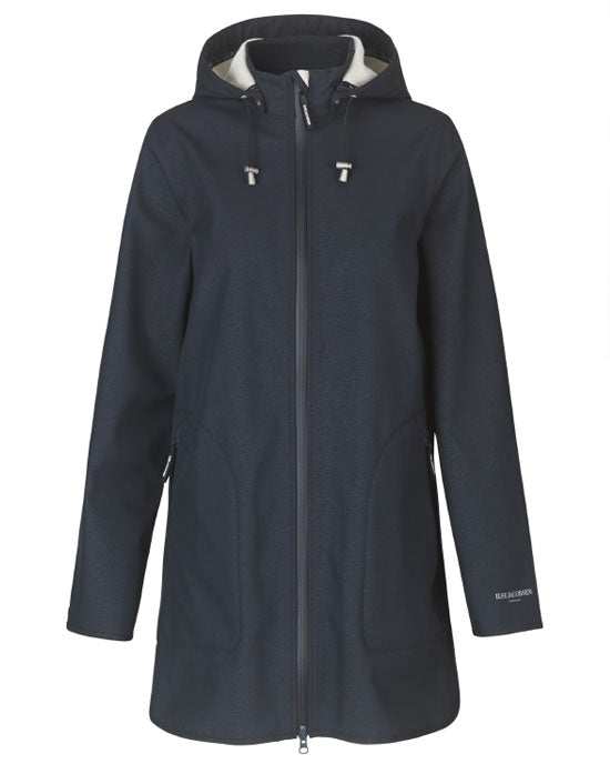 Ilse Jacobsen Raincoat - Dark Indigo - shopatstocks