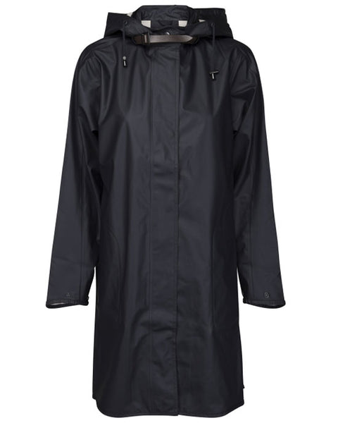 Ilse Jacobsen Light A-Line Raincoat Indigo