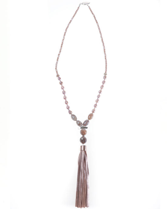 SEVILLE METALLIC TASSEL NCK - shopatstocks