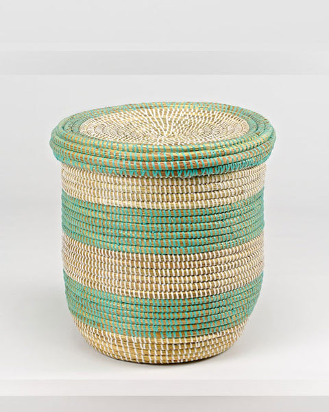 Small Storage Basket with Lid - shopatstocks