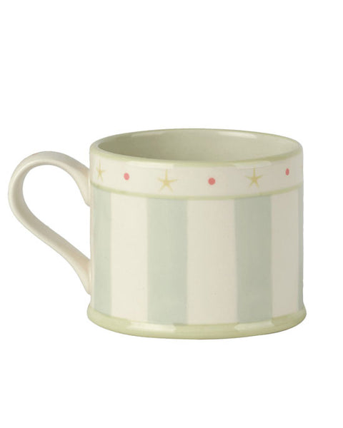 Blue Stripe Straight Mug