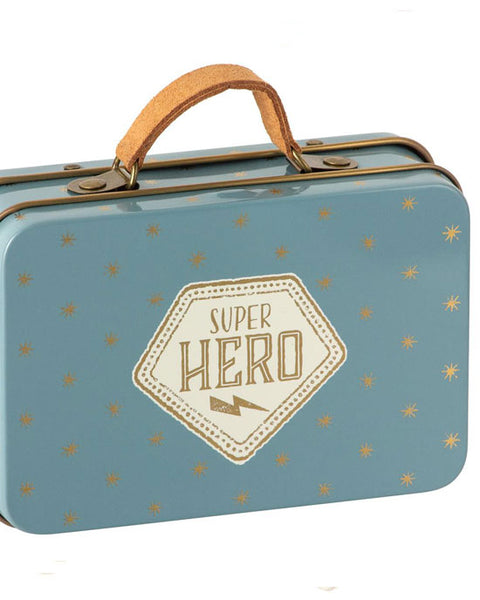 Superhero mouse in suitcase - shopatstocks