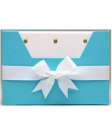 Turquoise Notecards Wallet