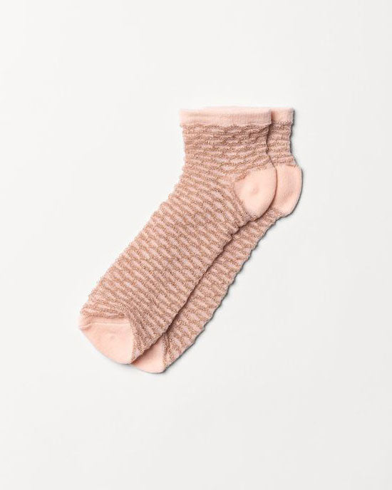 Waffle Dollie Sock Tropical Peach - shopatstocks