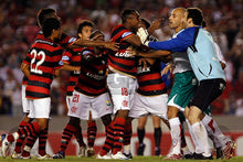 Load image into Gallery viewer, 2008 Flamengo Lubrax home replica retro football shirt