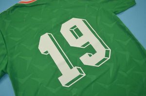 Ireland 1990 Italia Irish retro replica football shirt