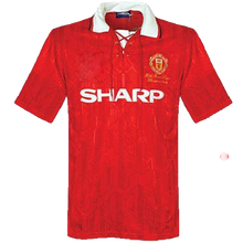 Load image into Gallery viewer, 1992-1994 Manchester United home replica retro football shirt